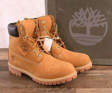 NEW Timberland 6 Inch Premium Men's 8.5 MED Work Boots Wheat TB010061 Waterproof
