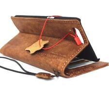 genuine vintage leather Case for oneplus 5 book wallet cover slim handmade slim