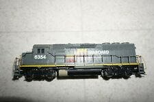 Ho Scale SEABOARD SYSTEM 6354 GP-40 2 Athearn Powered