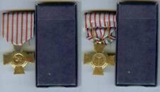 Médaille - Croix du combattant FDC avec s boîte d'origine