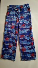 SPIDERMAN Marvel Boy's Pajama Bottoms Pants Muti-Color Lounge pants Size Small
