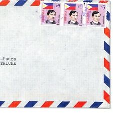 PHILIPPINES Cover 1999 *SAN JOSE* MISSIONARY Air Mail MIVA Vehicles CF267