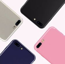 iPhone 7 Case Cover Super-Slim Fitting Dust Plug Anti-Shock Camera Protection
