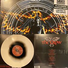 The Crow Soundtrack LP Black & White COLORED VINYL FYE Exclusive 500