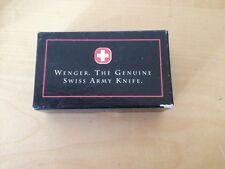 Used - Cardboard Box Scatola scatola WENGER - Empty Vuoto - 9,5 x 5,5 x 2,5 cm