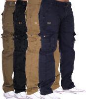 Geographical Norway Pantalones de Hombre Informal Pantalón Cargo Trabajo