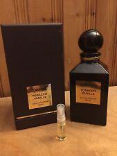 Tom Ford Tobacco Vanille Cologne 3ml Spray