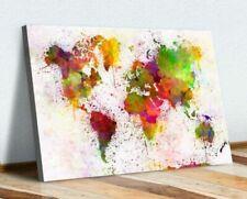 Map Abstract Art Prints