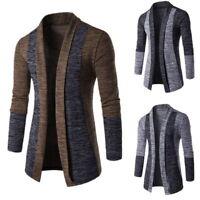 Herren Strickpullover Sweatshirt Strickjacke Sweater Coat Langarm Warm Cardigan