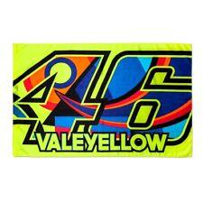 New VR46 Valentino Rossi MotoGP Track Flag 46 VALEYELLOW Flag 500/VRUFG 265803