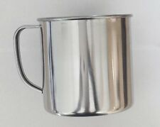 SET OF 2 32 Fl oz Stainless  Aluminium Soup Coffee Tea Camping Mug Has Logo
