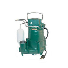 Zoeller M98 1/2 hp 115-Volt Flow-Mate Automatic Cast Iron Sump/Effluent pump