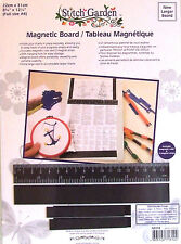 Magnetic Board for Cross Stitch Charts Incl. Ruler + 3 Strips Full A4 Size