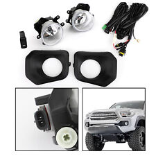 Fog Light Kit For 2016-2019 Toyota Tacoma Switch Wiring Cover Pair