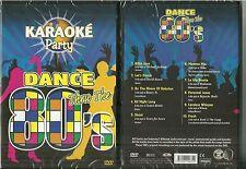 DVD - LES ANNEES 80 EN KARAOKE DANCE PARTY / BOWIE MICHAEL JACKSON BONEY M /NEUF