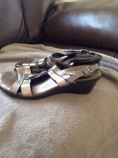 Pavers Jessica Ladies Leather Sandal Size 3-EU 36 Ex Con