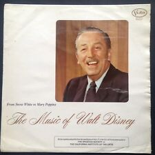 Musica di Walt Disney [Biancaneve a Mary Poppins] COLONNE SONORE LP RARO [] 1967 UK