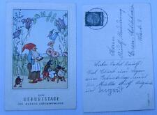 zum geburtztage die bes glückwunsche zwerg und käfer 1941