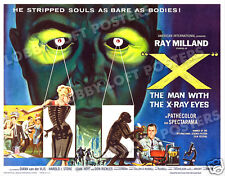 X THE MAN WITH THE X-RAY EYES LOBBY CARD POSTER HS 1963 RAY MILLAND