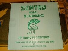 NEW* SENTRY Car Alarm Security System MODEL: GUARDIAN 2 | BRAND NEW SEALED