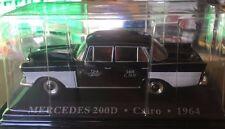"DIE CAST "" MERCEDES 200D CAIRO - 1964 "" 1/43 TAXI SCALA 1/43"
