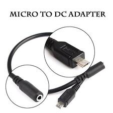 30Cm Micro USB Male TO DC 3.5mm Famale Audio RCA Jack Adapter USB Audio Cable