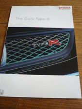HONDA CIVIC TYPE R BROCHURE 2004