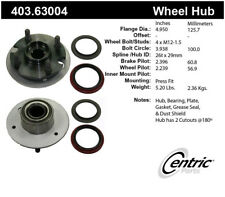 Axle Bearing and Hub Assembly Repair Kit-Premium Hubs Front Centric 403.63004