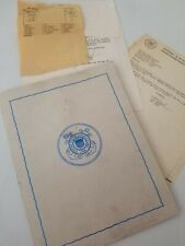 Vintage Us Coast Guard papers Collectible 1980s And 1994