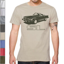 Mercedes R107 SL 450 SOFT Cotton T-Shirt Multi Colors&Sizes 350 500 560