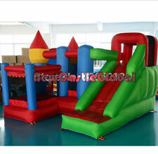 inflatable castle bounce bouncy house jumper with ball pit combo slide game