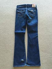 "*NWOT* TRUE RELIGION Girls Dark Denim Flare ""DISCO BILLY"" Jeans (size 14)"