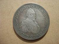 Augsburg Taler 1632 Gustav Adolph German Thaler