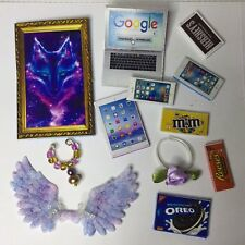 For Mini Toy  Pet Shop, Cat GALAXY Wings & Accessories (20 Pcs) PET NOT INCLUDED