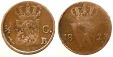 Niederlande 1/2 Cent 1823B William I K selten!!!