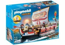Playmobil 5390 Roman Warriors' Ship - New, Sealed