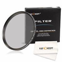 K&F Concept Pro Circular Polarizer CPL Filter 37/40.5/43/49/52/55/58/62/72/82MM
