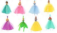 Disney Princess Ball Gown Christmas Ornament Theme Parks New