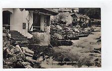 LYNMOUTH FLOODS 1952: Devon postcard (C7805)