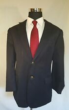 Cianni Cellini Navy Wool Italian Suit Coat 46L