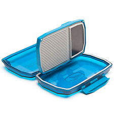 Umpqua HD Midge Premium Water Resistant Fly Box Blue See-Through Heavy Duty