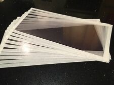 10 X Sand Shot blasting cabinet visors Screens 450mm X 300mm Any Sizes Available