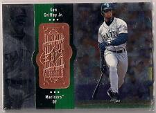 1998 SPx Finite Sample #1 Ken Griffey Jr. PROMO 0000/0000 Dealer Sample Mariners