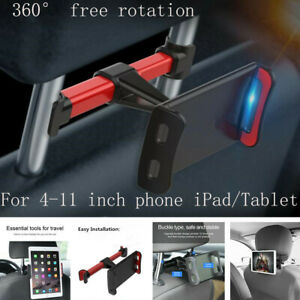 Car Back Seat Headrest Holder Mount for 4-11 Inch iPad Tablet Phone Samsung
