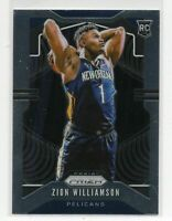 2019-20 Zion Williamson Panini Prizm RC 248 MINT DEAD CENTERED *POSSIBLE PSA 10*