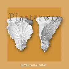 Rococo Plaster Corbel (CL19) plasterwrx corbels hallway