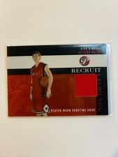 Kirk Hinrich jersey relic basketball card 2003 Topps Pristine Recruit #Prkh