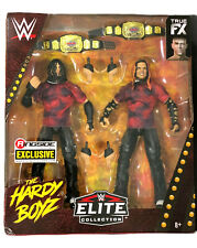 WWE JEFF AND MATT HARDY THE HARDY BOYZ 2 PACK EXCLUSIVE TOY ACTION FIGURES MOC