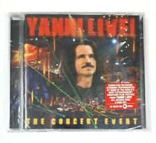 Yanni Live!: The Concert Event - CD - with Bonus DVD  - New and Sealed