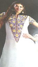 Bollywood Anarkali Design er Partywear Ethnic UNstitched Suit   edsShipping USA